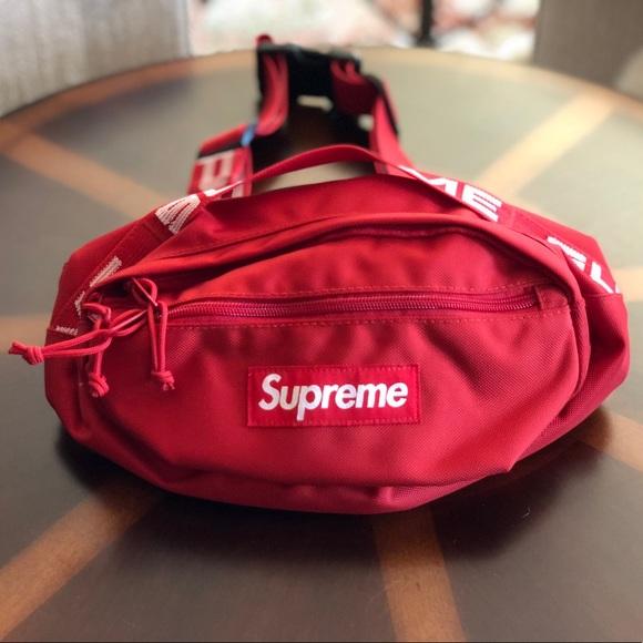 cfa8ecbb20 Supreme SS18 Waist Bag Red. M_5ac694405521bed4a1fea8a5